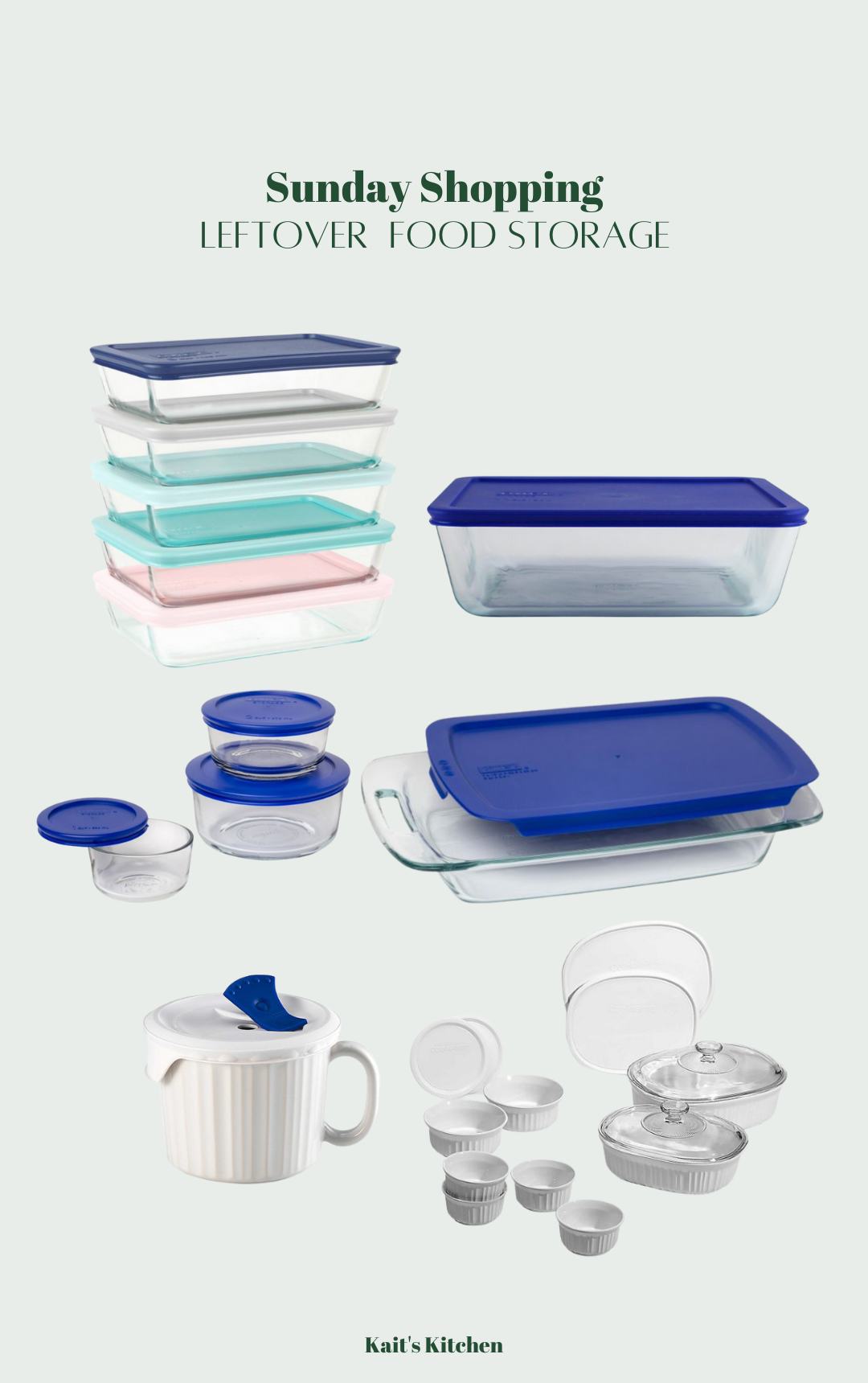 leftover food storage product round up